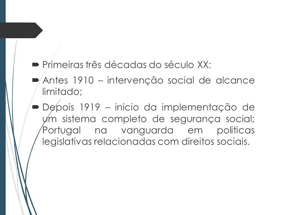 Origem da criação do Estado-Previdência em Portugal enquanto a vontade de fusão das tradições antigas de inter-ajuda e solidariedade de ofício, prosseguidas pelo mutualismo, e em menor grau a prática do paternalismo patronal; Criação do sistema de segurança social não se fez apenas por decisões de cima para baixo; correspondeu a aspirações pré-existentes.