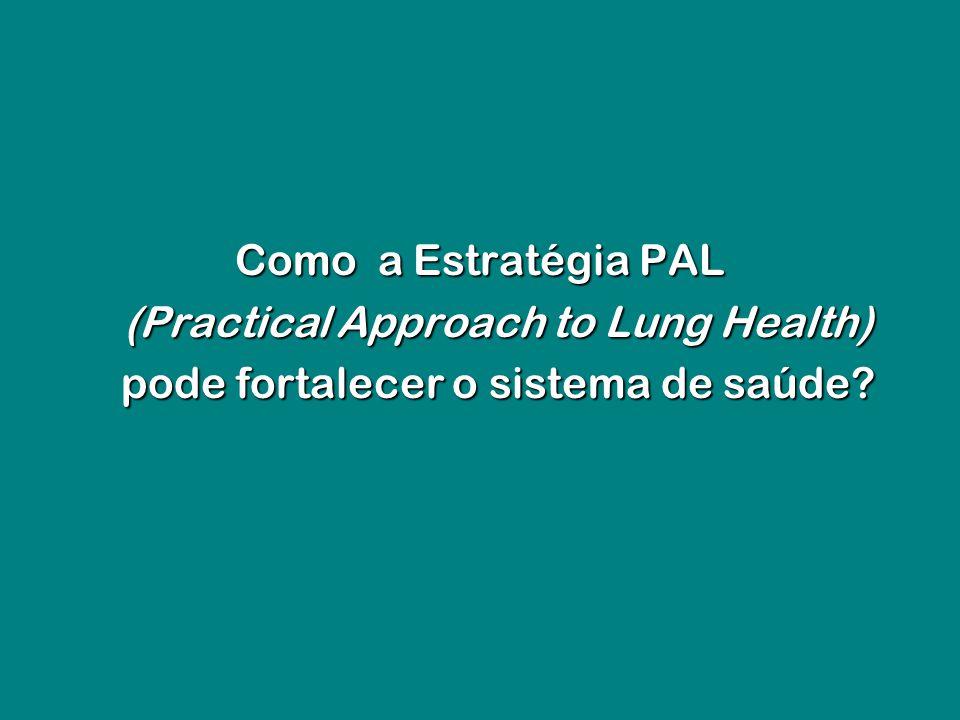 Como a Estratégia PAL (Practical Approach to Lung Health) pode fortalecer o sistema de saúde?