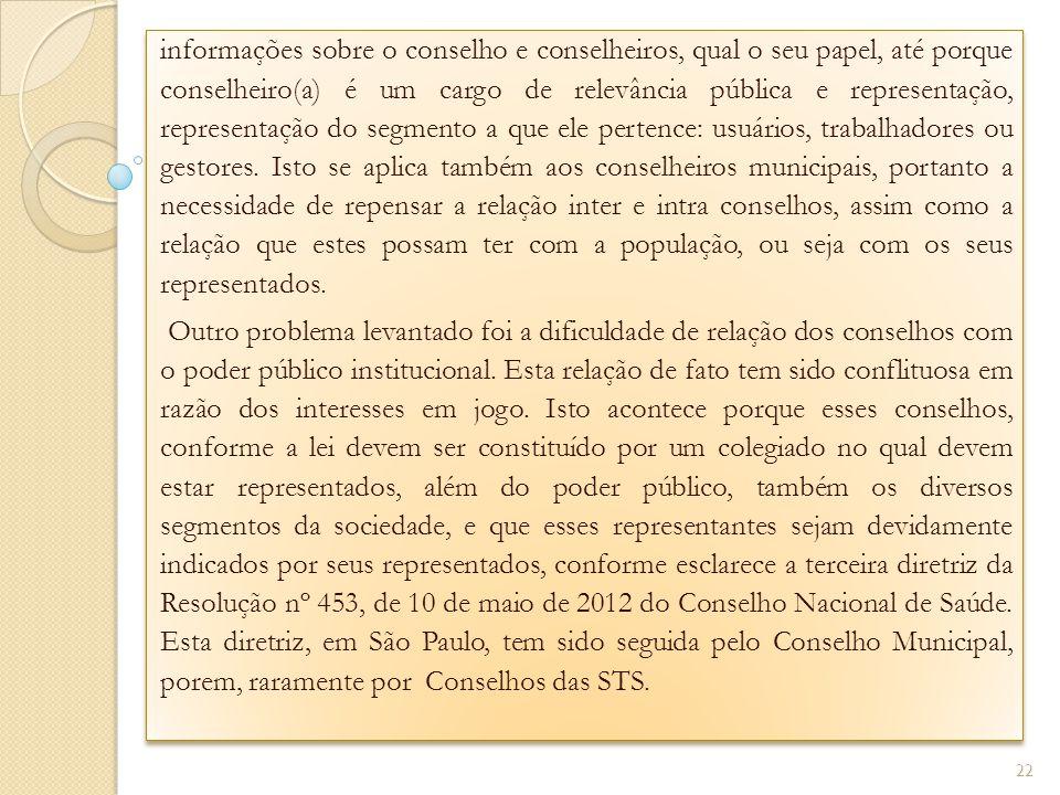 informações sobre o conselho e conselheiros, qual o seu papel, até porque conselheiro(a) é um cargo de relevância pública e representação, representaç