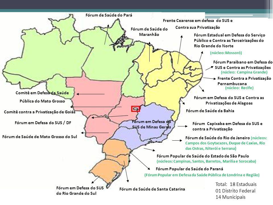 (Fórum Popular em Defesa da Saúde Pública de Londrina e Região) Fórum Popular de Saúde do Paraná Fórum em Defesa do SUS e Contra as Privatizações de A