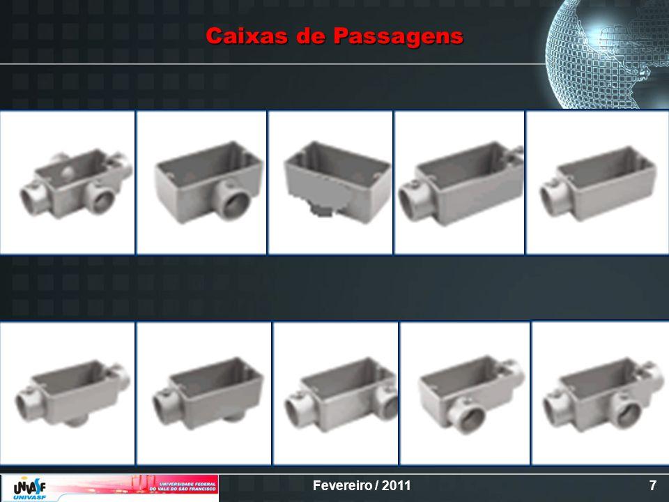 Fevereiro / 20118 Caixas de Passagens (Cont.)
