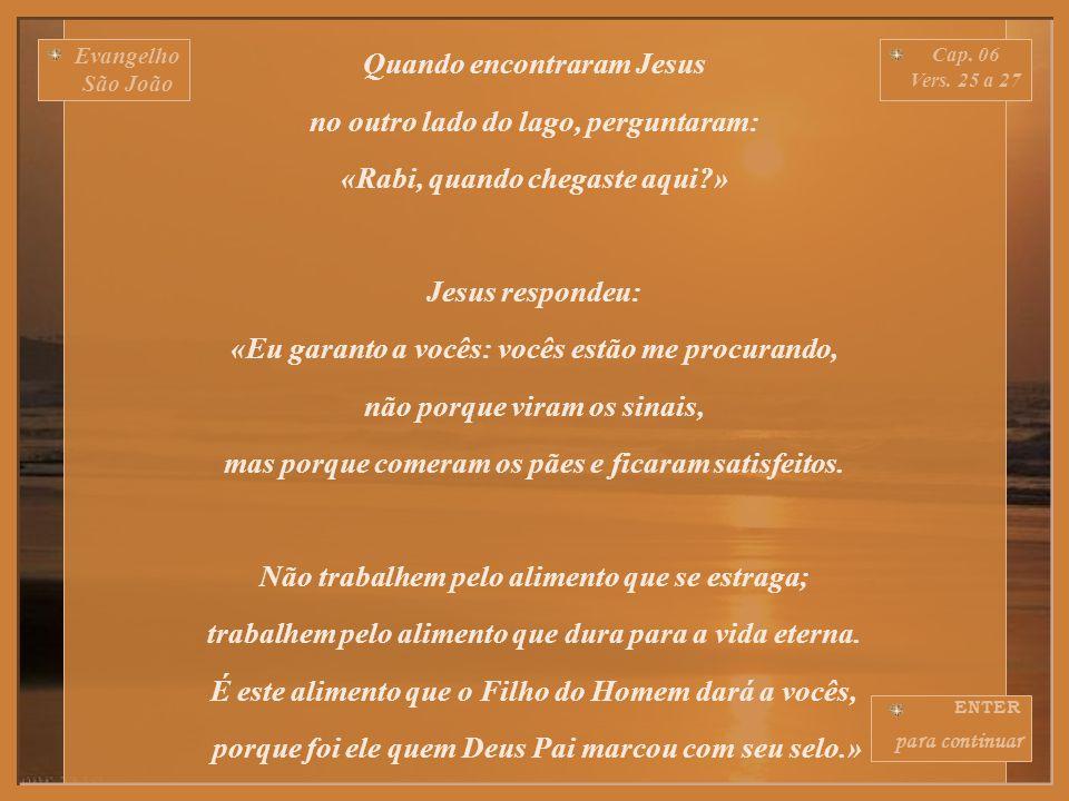 Evangelho São João Cap.06 Vers.