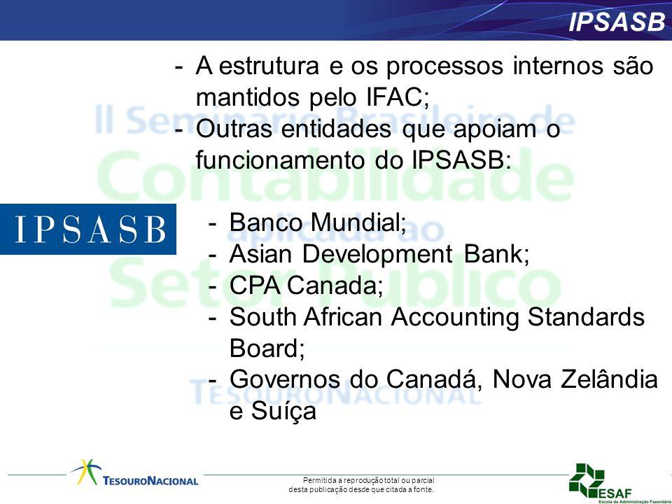 Permitida a reprodução total ou parcial desta publicação desde que citada a fonte. -A estrutura e os processos internos são mantidos pelo IFAC; -Outra