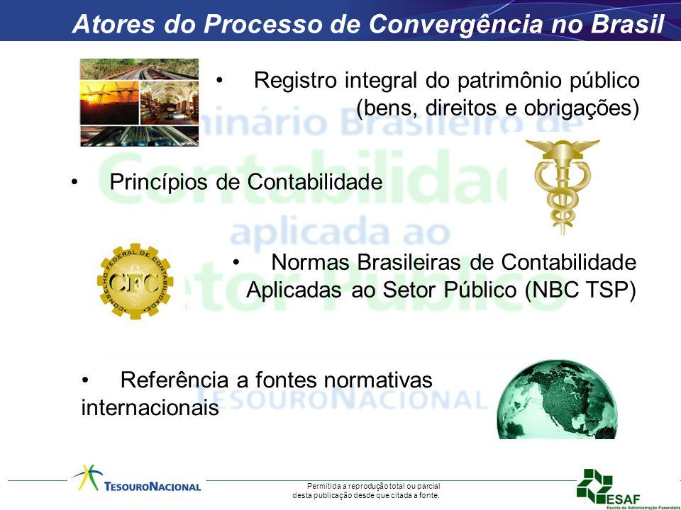 Permitida a reprodução total ou parcial desta publicação desde que citada a fonte. Atores do Processo de Convergência no Brasil Registro integral do p