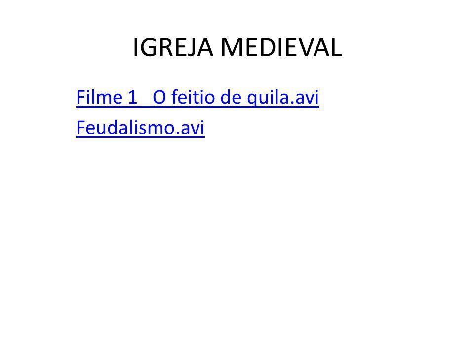 IGREJA MEDIEVAL Edito de Milão (313) e edito de Tessalônica (391), orça no continente europeu – cristianização dos povos bárbaros.