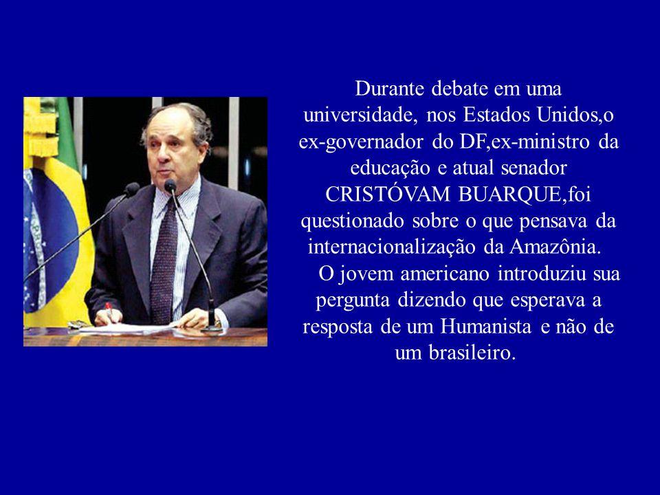 Essa merece ser lida, afinal não é todo dia que um brasileiro dá um esculacho educadíssimo nos americanos! ESSA CALOU A BOCA DOS AMERICANOS!!!