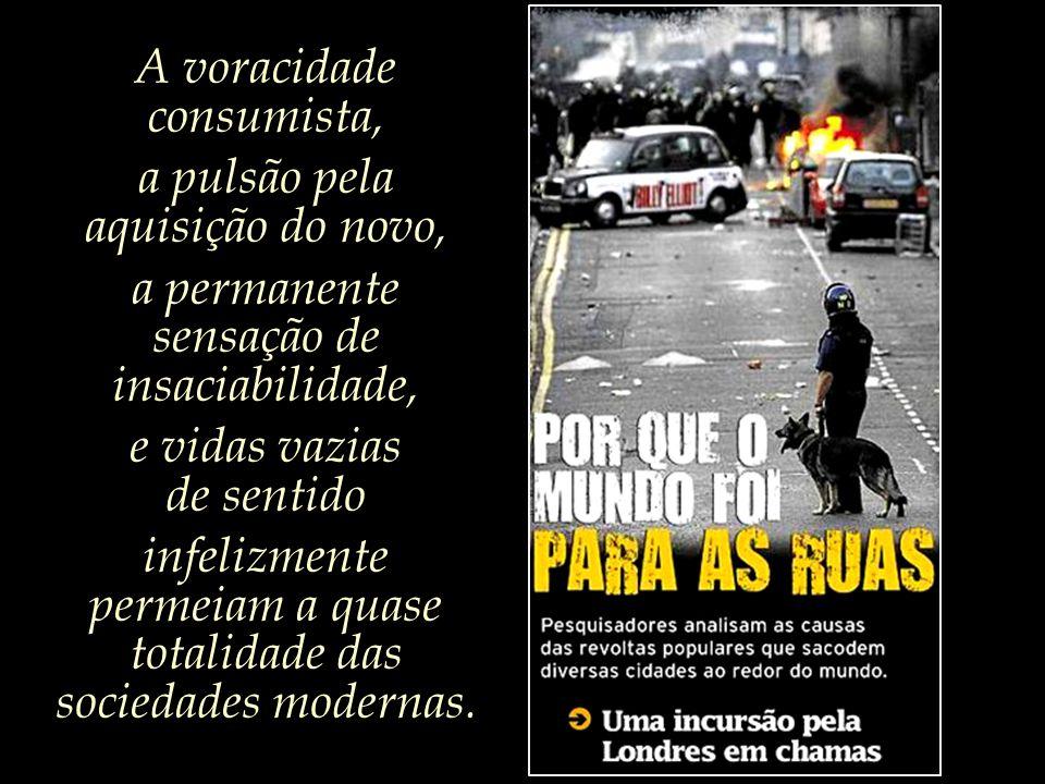 Diversos especialistas acreditam que os conflitos que tiveram por palco as ruas londrinas poderiam ter ocorrido em qualquer outra cidade grande.