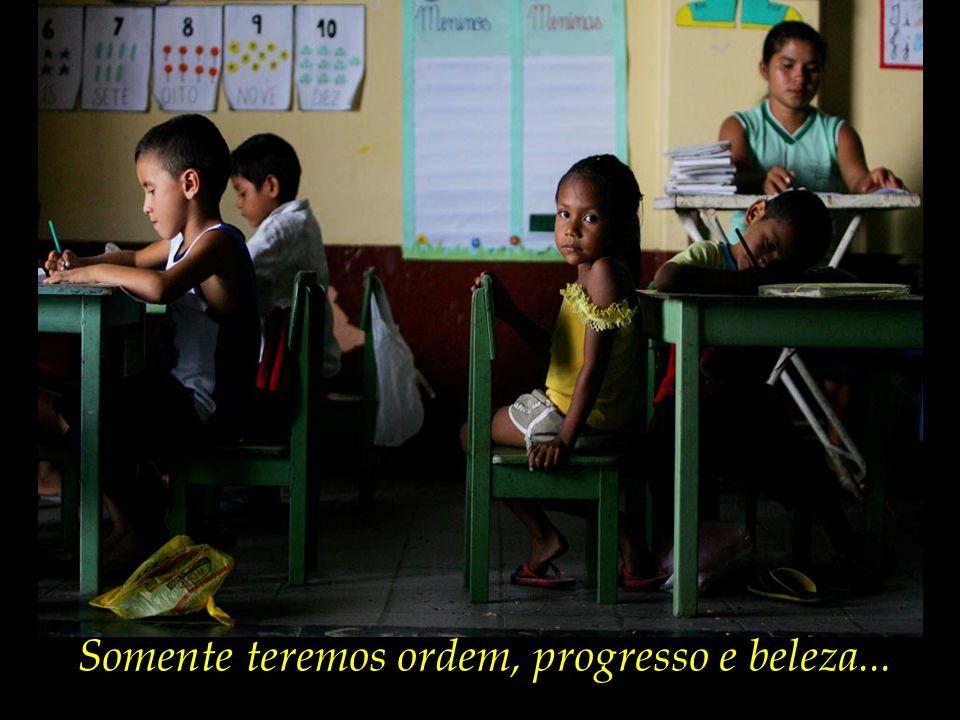 Uma educação plena, que abarque o desenvolvimento físico e intelectual, emocional, espiritual e social das crianças pequenas que estão iniciando a sua