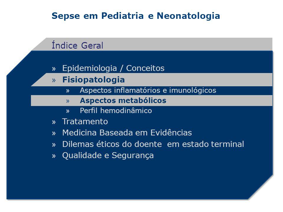 Sepse em Pediatria e Neonatologia » Epidemiologia / Conceitos » Fisiopatologia » Aspectos inflamatórios e imunológicos » Aspectos metabólicos » Perfil