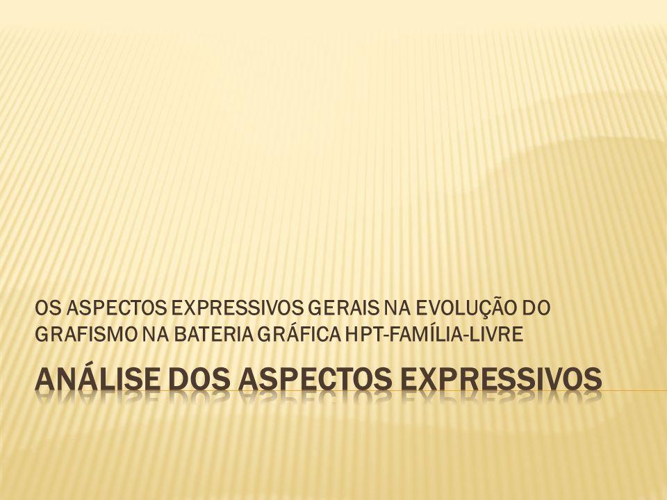 OS ASPECTOS EXPRESSIVOS GERAIS NA EVOLUÇÃO DO GRAFISMO NA BATERIA GRÁFICA HPT-FAMÍLIA-LIVRE