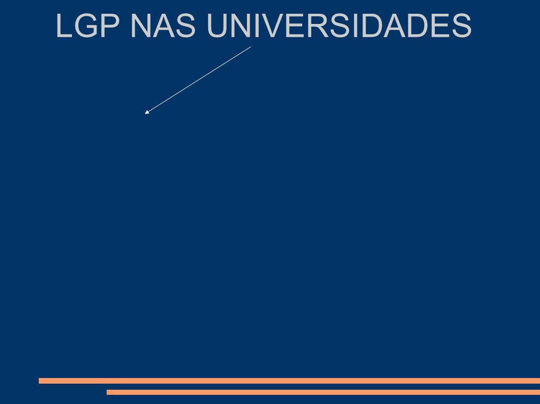 LGP NAS UNIVERSIDADES Comunidade Surda Comunidade científica E a qualidade?