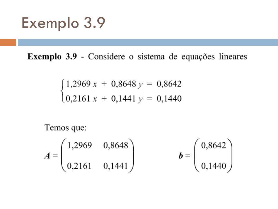 Exemplo 3.9