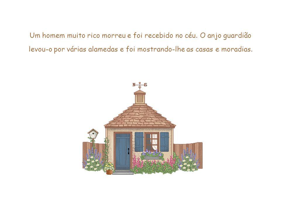 Esse slide foi feito por Luana Rodrigues – luannarj@uol.com.br - http://luannarj.sites.uol.com.brluannarj@uol.com.br http://luannarj.sites.uol.com.br A MORADA NO CÉU