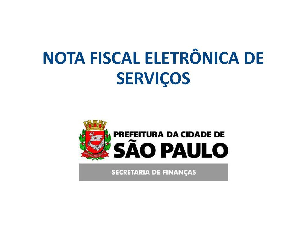 SF/SUREM/DEFIS09/03/2009 NOTA FISCAL ELETRÔNICA DE SERVIÇOS