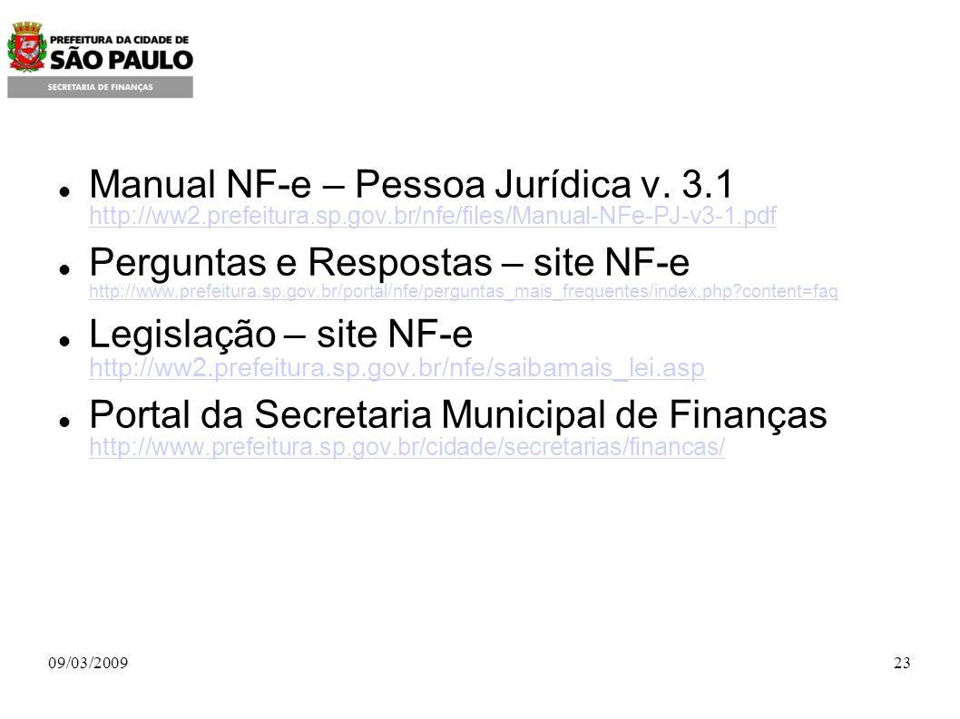 Manual NF-e – Pessoa Jurídica v.
