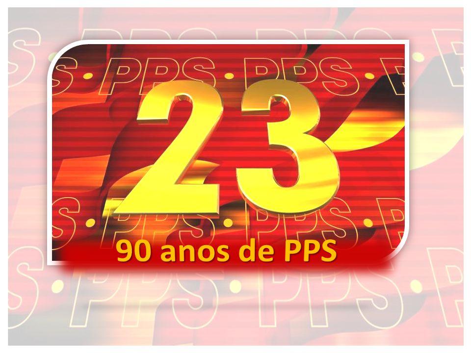 O PPS é o Partido Político mais antigo do Brasil, tendo como origem o Partido Comunista Brasileiro, fundado em 25 de março de 1922.