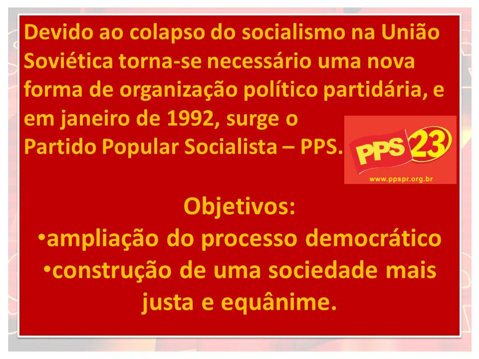Devido ao colapso do socialismo na União Soviética torna-se necessário uma nova forma de organização político partidária, e em janeiro de 1992, surge