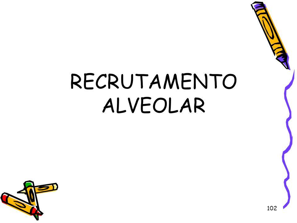 RECRUTAMENTO ALVEOLAR 102