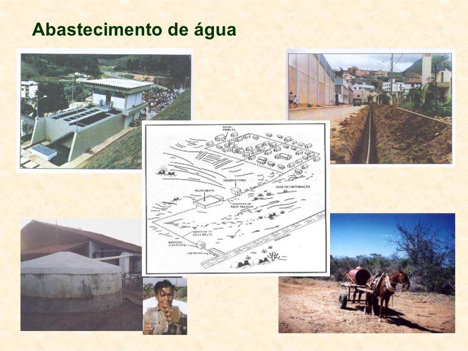 Proteção sanitária de mananciais