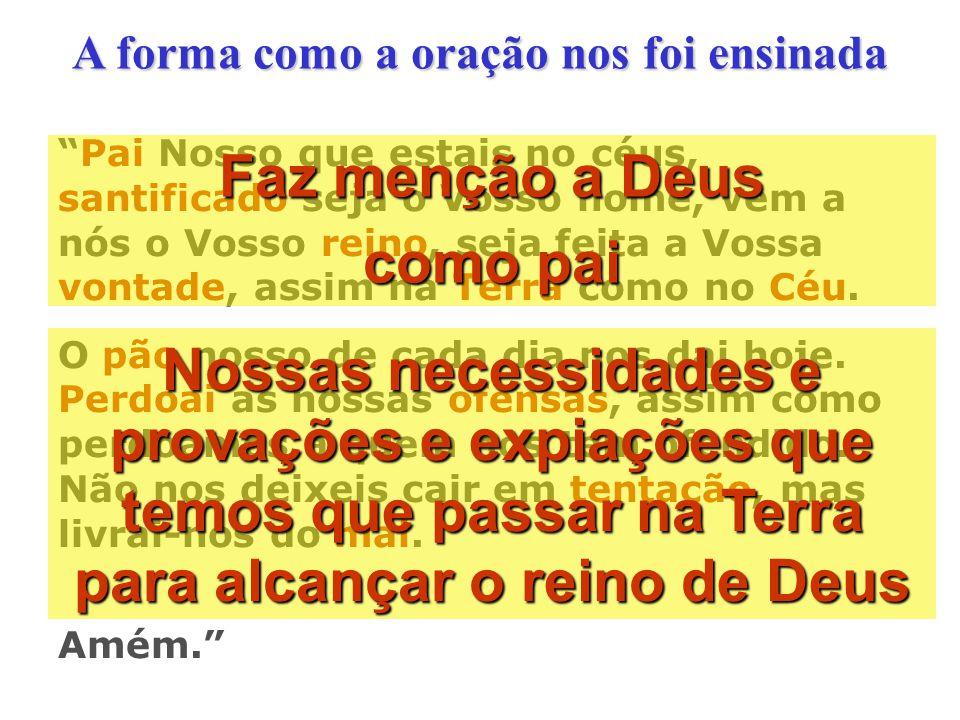 Tradução direta do texto Hebraico pelo Prof. Dr. Severino Celestino da Silva Analisando as Traduções Bíblicas Pai nosso dos céus, santo é o teu nome,