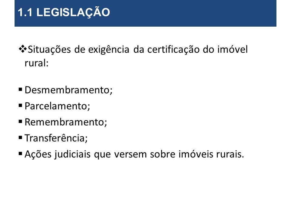 Prazos para exigência da certificação*: (Art.