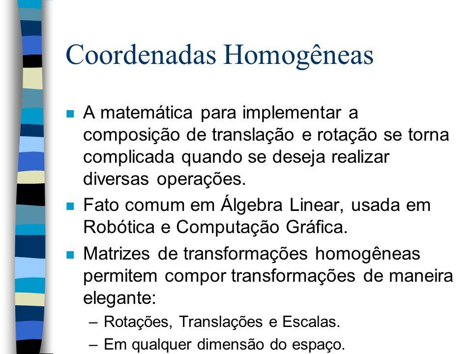 Matriz de transformação homogênea