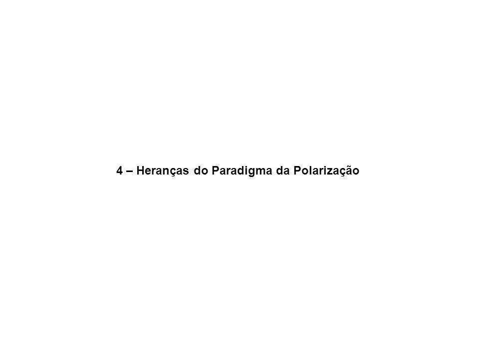 4 – Heranças do Paradigma da Polarização