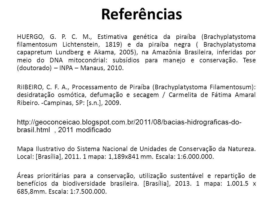 HUERGO, G. P. C. M., Estimativa genética da piraíba (Brachyplatystoma filamentosum Lichtenstein, 1819) e da piraíba negra ( Brachyplatystoma capapretu