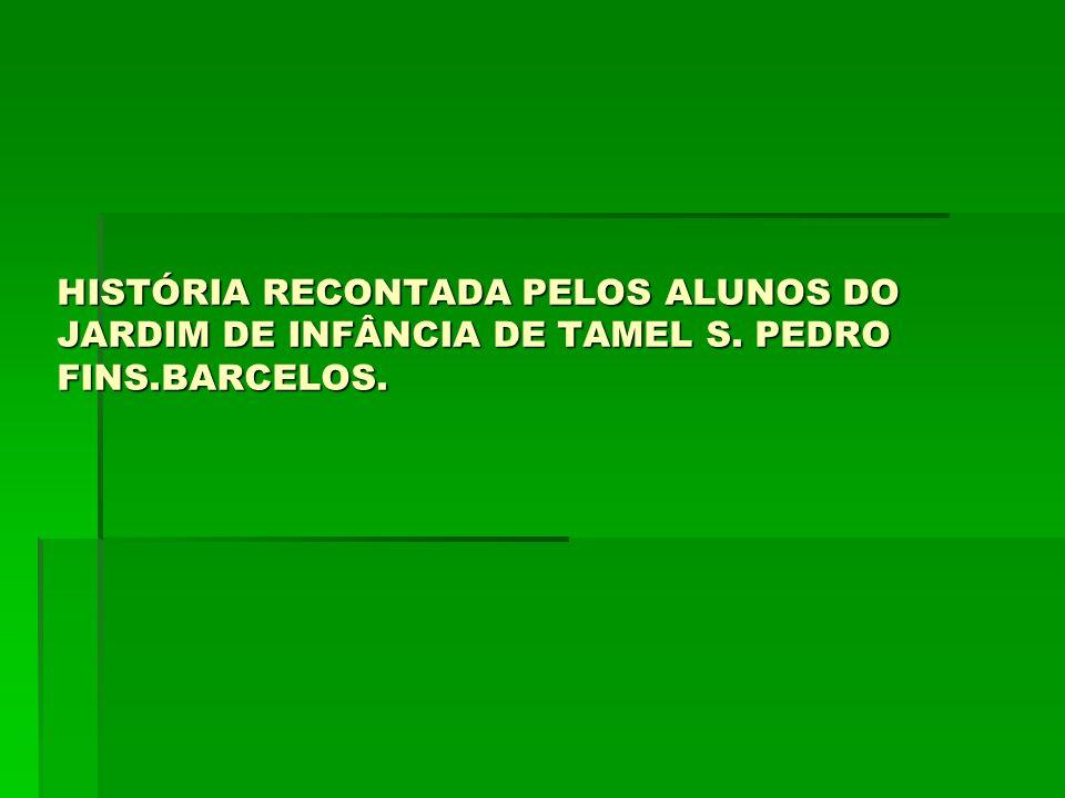 HISTÓRIA RECONTADA PELOS ALUNOS DO JARDIM DE INFÂNCIA DE TAMEL S. PEDRO FINS.BARCELOS.
