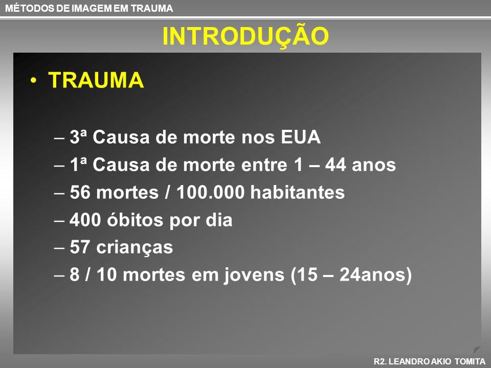 INTRODUÇÃO Avaliação Primária –A- Airway with cervical- spine control –B- Breathing –C- Circulation –D- Disability or neurologic status –E- Exposure(undress) with temperature control.