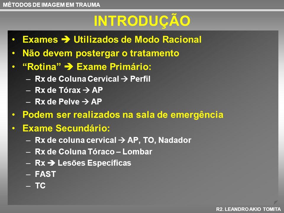 TC ABDOME MÉTODOS DE IMAGEM EM TRAUMA R2.