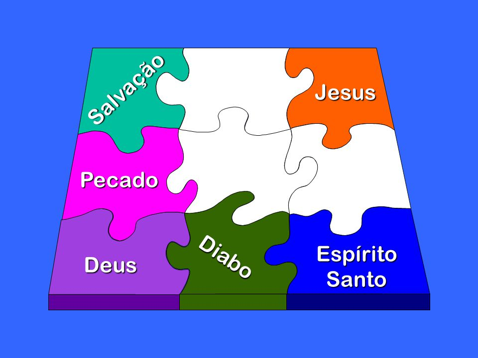 Diabo Deus Jesus EspíritoSanto Salvação Pecado