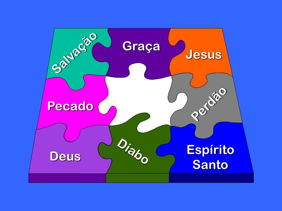Salvação Pecado Graça Diabo Deus Jesus EspíritoSanto Perdão
