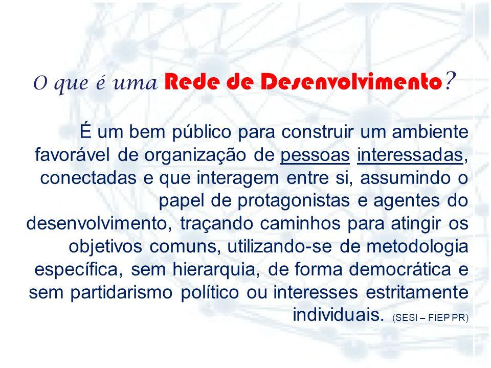 No dia 11 de dezembro de 2013, pessoas de vários segmentos da sociedade reuniram-se, conheceram a metodologia de rede de desenvolvimento orientada pel
