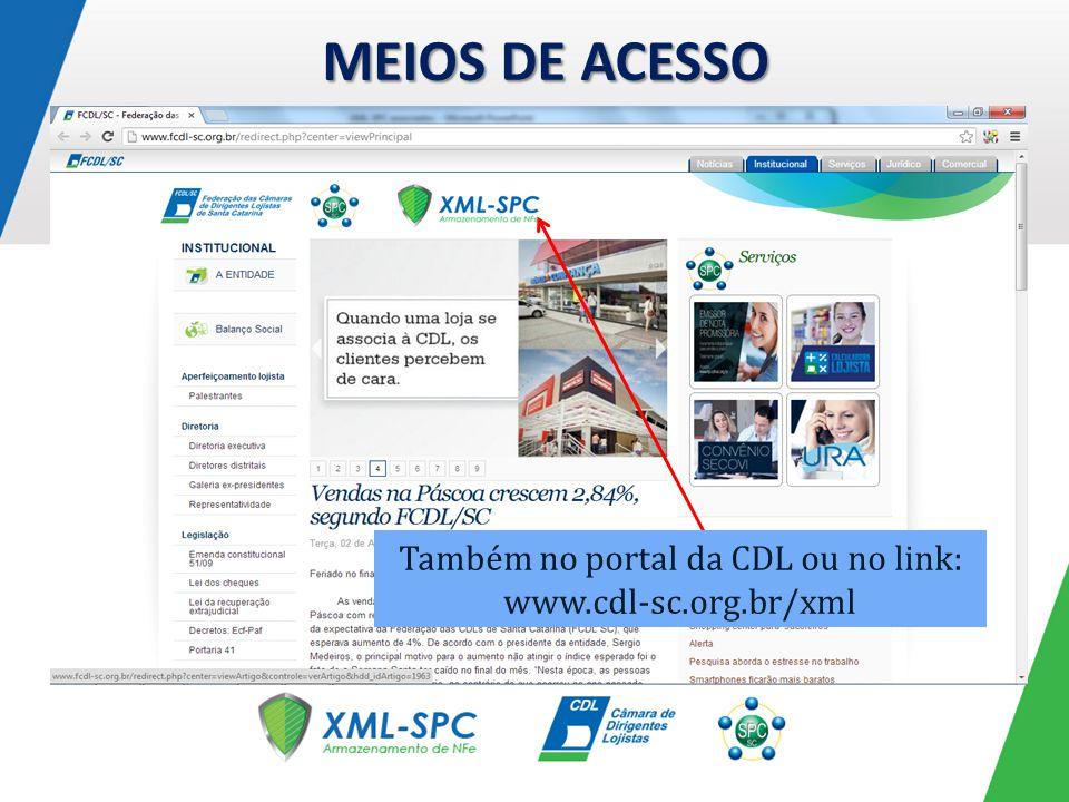 PROCESSO DE INGRESSO Acessar com usuário e senha fornecidos.