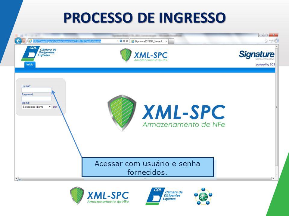 PROCESSO DE CONSULTA, APÓS O INGRESSO Sistema simples e intuitivo, apenas 3 abas na tela inicial.