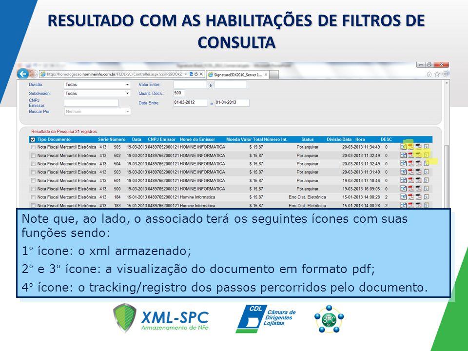 MÓDULO DE STATUS DE NFe OU FAROL DE RECEPÇÃO Clicando na Aba Status da Nfe habilitará através do monitor farol a situação do processo de recebimento.
