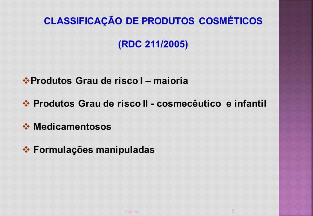 Valéria 26 MÉTODOS DE AVALIAÇÃO I)Testes subjetivos (in vivo) Voluntários condições normais de usoconsumidor Cabeleireiro teste meia cabeça Mechas Protocolo de aplicação e avaliação II) Testes instrumentais Avaliação final vários tipos de medidas Mechas certificadas tratamento químico, orientação da raiz à ponta, ondulação natural e custo Protocolo de aplicação e avaliação Resposta confiabilidade (estatística)