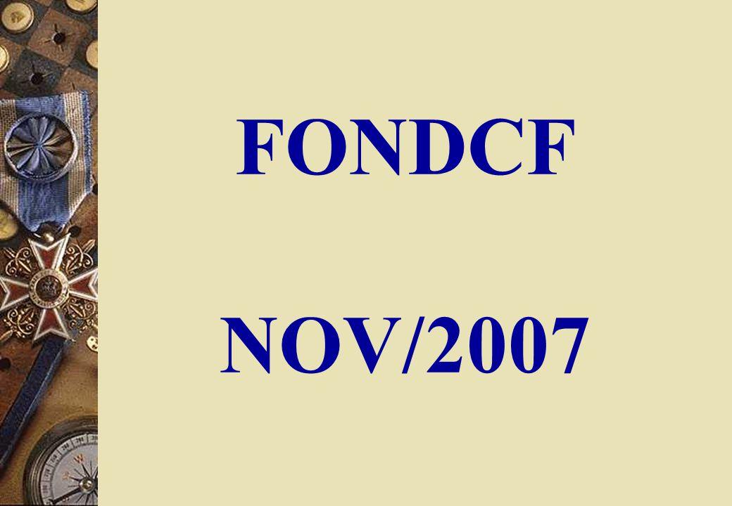 FONDCF NOV/2007
