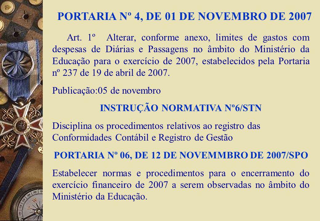 RESTOS A PAGAR Inclusão de novas espécies de NE para registro da anulação em decorrência da insuficiência financeira para inscrição de restos a pagar em atendimento LC nº 101/2000 – Art.