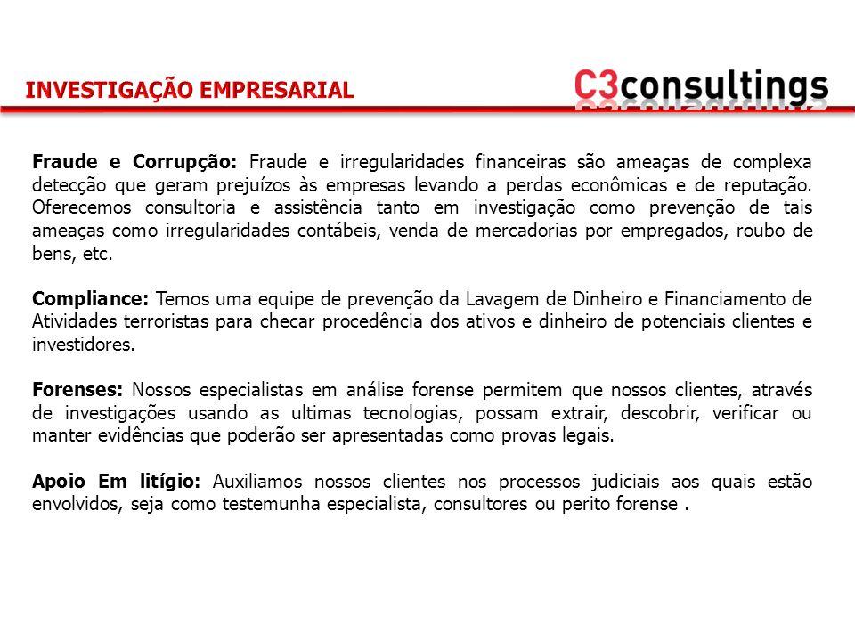 Fraude e Corrupção: Fraude e irregularidades financeiras são ameaças de complexa detecção que geram prejuízos às empresas levando a perdas econômicas