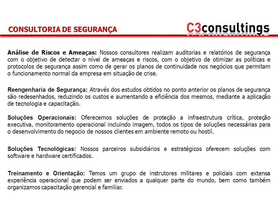 info@c3consultings.cominfo@c3consultings.com www.c3consultings.com Panamá City Office Tel: +50 736-69328 fp@c3consultings.com London Office Tel: + mwh@c3consultings.com Rio de Janeiro office Tel: +55 (21) 3079-8040 ea@c3consultings.com Asunción office Tel: +59 521-683502 obm@c3consultings.com Matriz Buenos Aires Office Tel: +54 11-52457767 em@c3consultings.com CONTATE-NOS