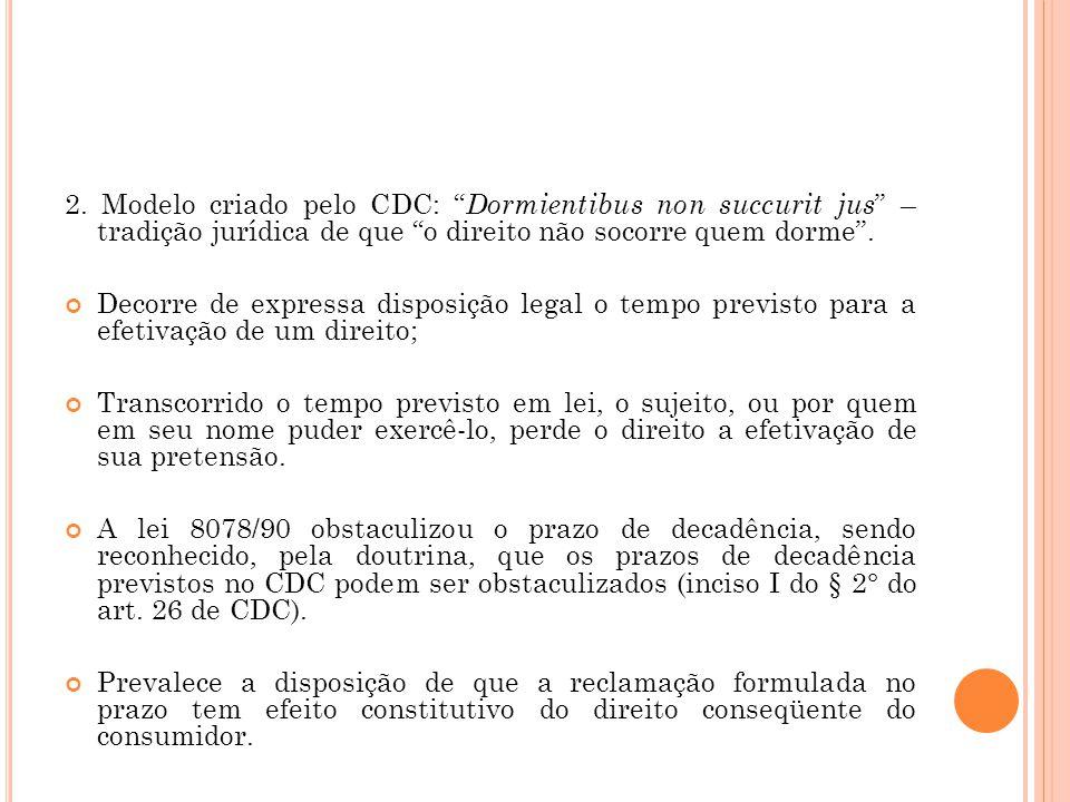 V.P RESCRIÇÃO E D ECADÊNCIA 1. Conceito Legal: Arts.