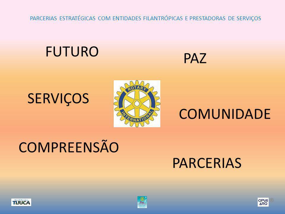 PARCERIAS ESTRATÉGICAS COM ENTIDADES FILANTRÓPICAS E PRESTADORAS DE SERVIÇOS ®