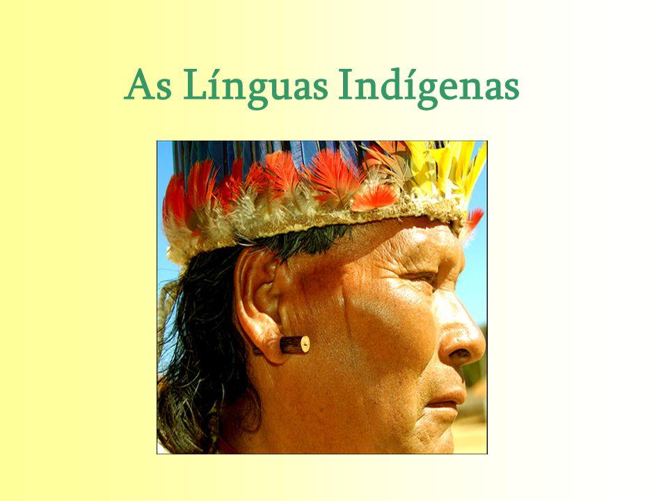 As Línguas Indígenas