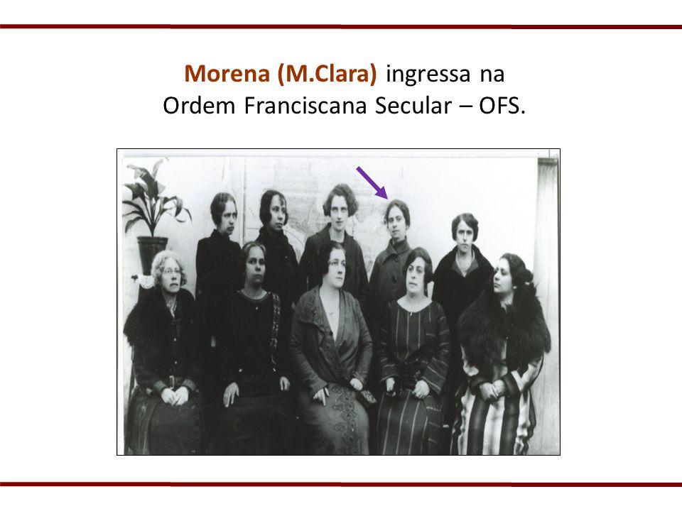Madre Clara sempre foi muito aberta aos apelos da igreja, buscando uma inserção sempre renovada.