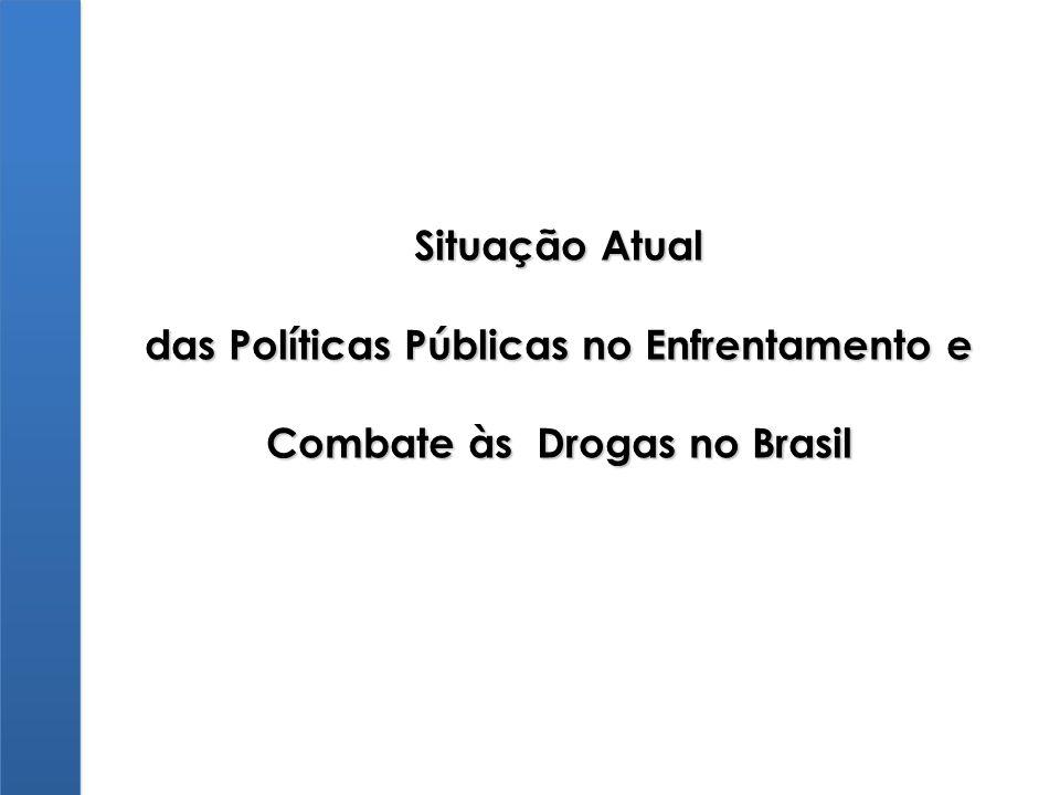 Situação Atual das Políticas Públicas no Enfrentamento e Combate às Drogas no Brasil