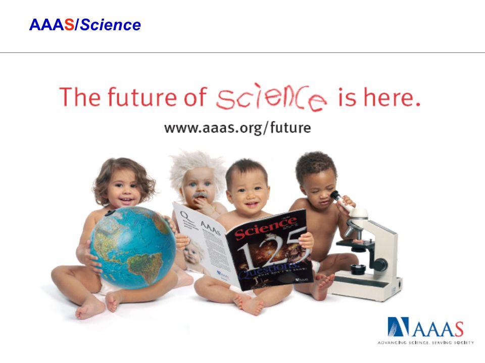 1 AAAS/Science