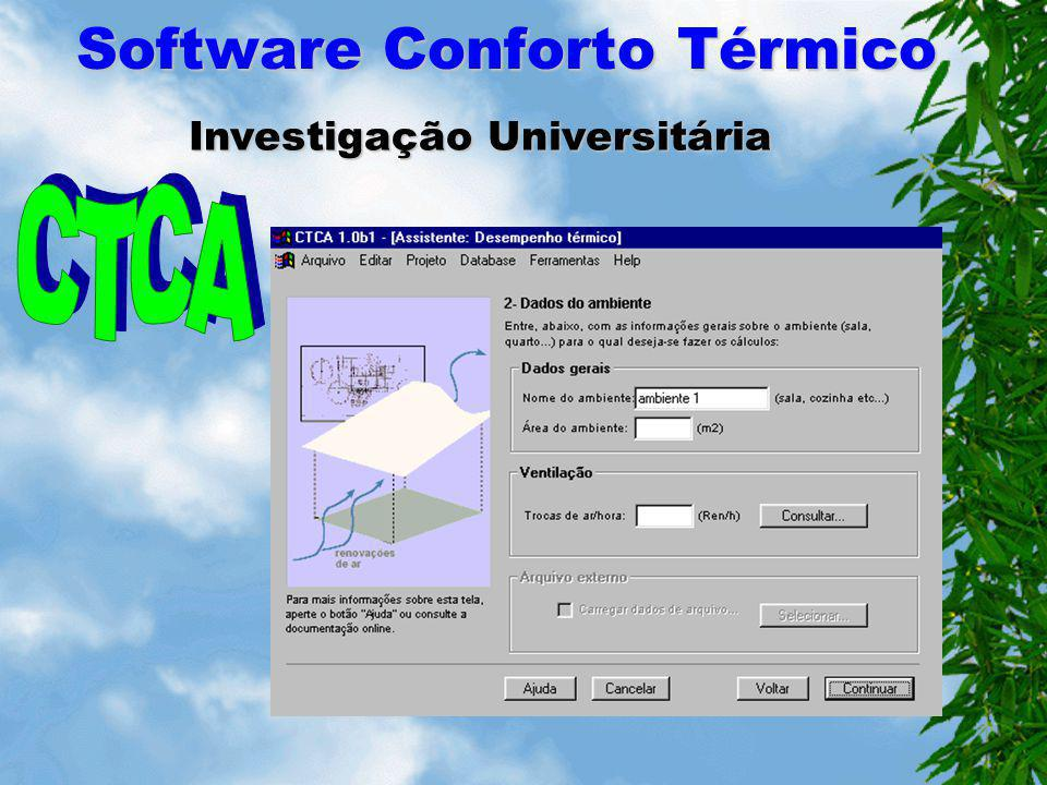 Software Conforto Térmico Fabricante de Equipamento