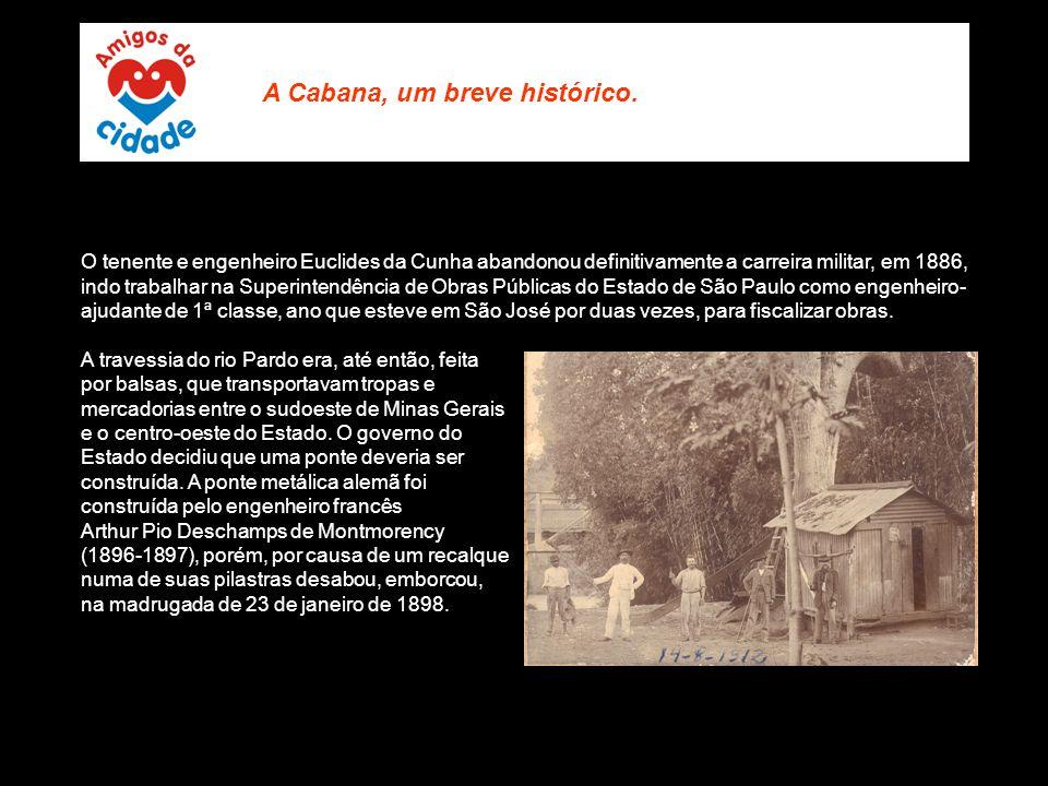 O tenente e engenheiro Euclides da Cunha abandonou definitivamente a carreira militar, em 1886, indo trabalhar na Superintendência de Obras Públicas d
